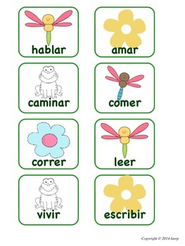 Verb Sort {Spanish}