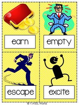 Flashcards Regular Verbs Part 1