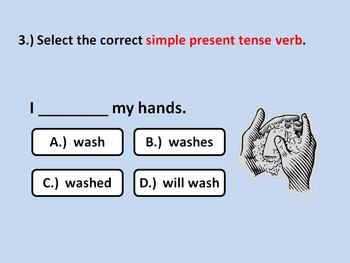 Verb Tenses & and Regular Verbs Part 1: Simple Tenses (Powerpoint)