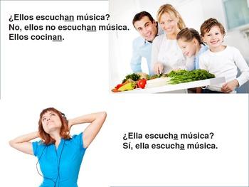 Regular Verbs in Spanish (Present Tense) PowerPoint Presentation