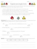 Regular and Angry Verbs - Past Tense Verbs Practice Worksheet