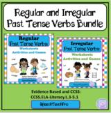 Regular and Irregular Past Tense Verbs Bundle