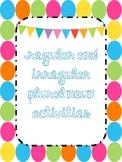 Regular and Irregular Plural Noun Activities