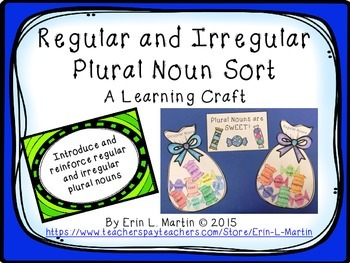 Regular and Irregular Plural Noun Learning Craft