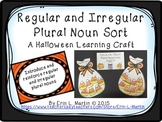 Regular and Irregular Plural Nouns Halloween Learning Craft