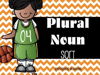 Regular and Irregular Plural Nouns Matching Game - Common