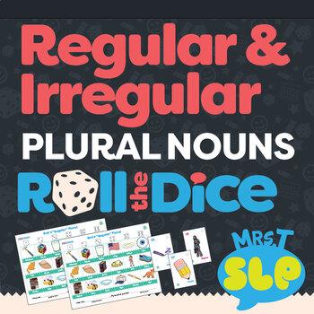 Regular and Irregular Plural Nouns: Roll-the-Dice Games