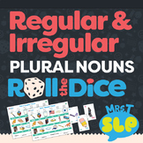 Regular and Irregular Plural Nouns: Roll-the-Dice Games