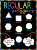 Regular and Irregular Polygon Numeracy Poster + Activities Pack - Maths