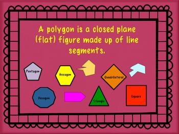 Regular and Irregular Polygon Task Cards