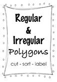 Regular and Irregular Polygons (Posters)