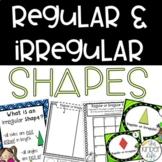 Regular and Irregular Shapes Math Mini Unit 5 Activities