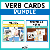 Regular and Irregular Verb Flashcards Bundle