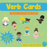 Regular and Irregular Verb Picture Cards and Visual