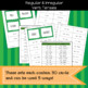 Regular and Irregular Verb Tenses Game/Sort Pack
