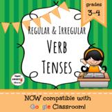 Regular and Irregular Verb Tenses Game/Sort Pack (INC. DIG