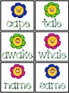 Regular and Irregular Vowel Games