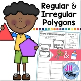Regular or Irregular Polygon? Cut and Paste Sorting Activity