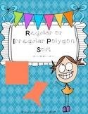 Regular or Irregular Polygon Sort