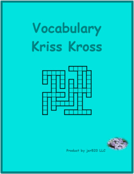 Regular verbs in German Kriss Kross puzzle
