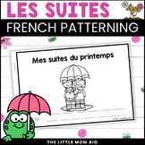 Régularité du Printemps   Spring Patterns Activity - FRENCH / EN FRANÇAIS