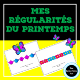 Régularité du Printemps | Spring Patterns Activity - FRENC