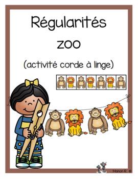 Régularités zoo (Zoo Patterns)