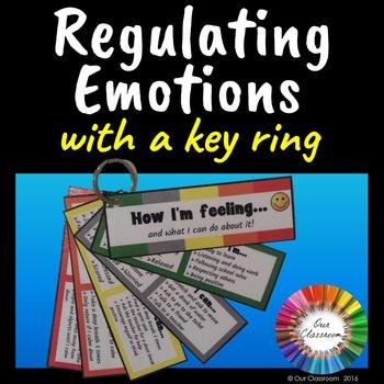 Self Regulation and Behavior Management Key Ring
