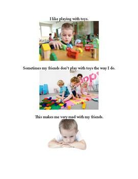 Regulating Emotions- a visual social story