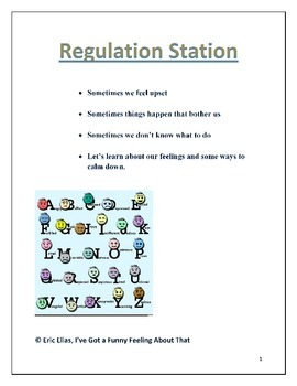 Regulation Station (Emotional Regulation)