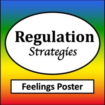 Regulation Strategies Feelings Posters {Behavior Strategies} {Zones  Regulation}