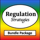 Zones of Self Regulation Activities Bundle {Zones of Regulation Visuals}
