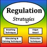Zones of Regulation Tools {Zones of Regulation Visuals}