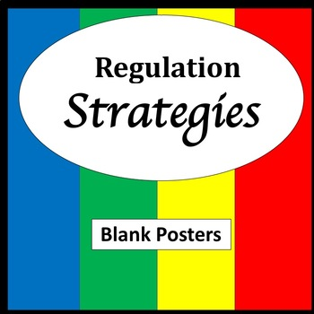Regulation Strategies Poster {Zones of Regulation} {Emotional Regulation Poster}