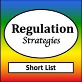 Zones of Self Regulation Poster {Emotional Regulation Poster}