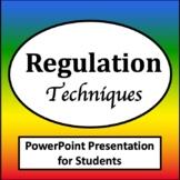 Zones of Self Regulation Visuals PowerPoint {Zones of Regulation Tools}