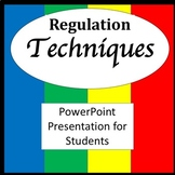 Zones of Self Regulation Visuals PowerPoint {Zones of Regu