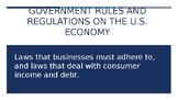 Regulations on U.S. Enterprise system