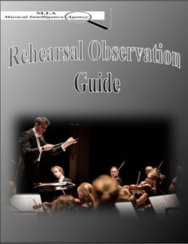 Rehearsal Observation Guide