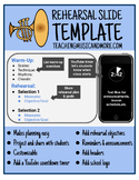 Rehearsal Slide Template - Smartphone Theme