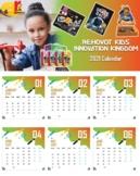 Rehovot Kids Innovation Kingdom 2021 Digital Calendar