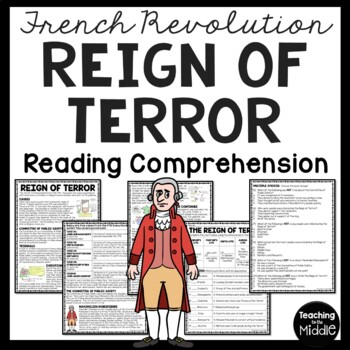 Reign of Terror during the French Revolution article, questions