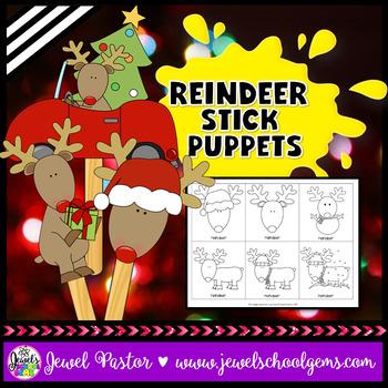 Christmas Craftivities (Reindeer Crafts)