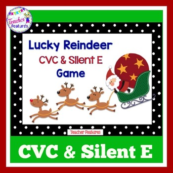 Santa's Reindeer Games CVC & SILENT E