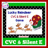 Reindeer | CVC Words | SILENT E | word games