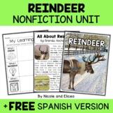 Nonfiction Unit - Reindeer Activities
