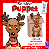 Reindeer Puppet Christmas Craft Activity