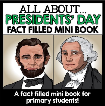 Presidents' Day Mini Book Unit Project