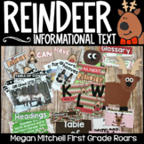 Reindeer: A Non-fiction Informational Text Mini Unit