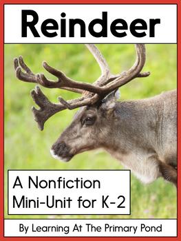 Reindeer: A Vocabulary Companion Pack